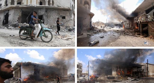 Regime Air Raids Kill 11 Civilians In Northwest Syria
