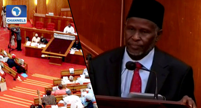 Senate Confirms Tanko Muhammad As Chief Justice Of Nigeria