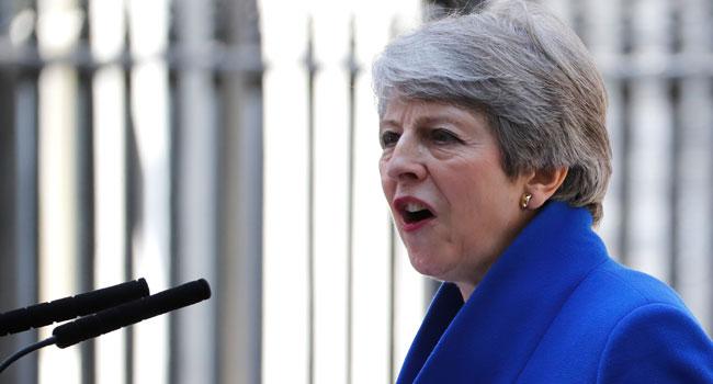 Theresa May Resigns As British PM