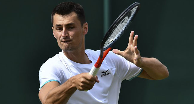 Tomic Stripped Of £45,000 Wimbledon Prize Money For Tanking