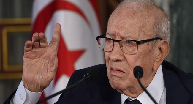 Tunisia's President Beji Essebsi Dies At 92