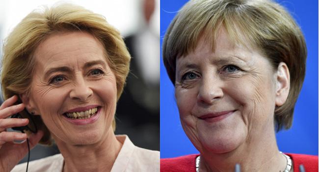 Merkel Congratulates 'Committed European' Von Der Leyen