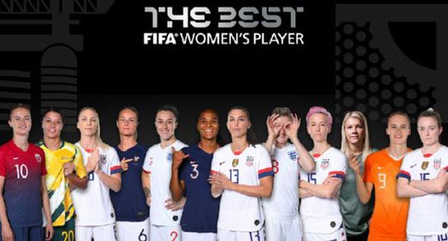 FIFA Releases Shortlist For Best Women's Player Award 2019