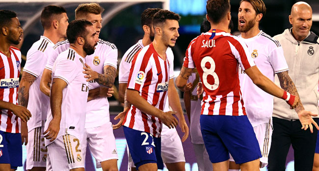 Atletico Humble Real Madrid 7-3 In Friendly
