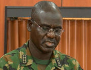 A file photo of Chief of Army Staff, Lieutenant General Tukur Buratai.