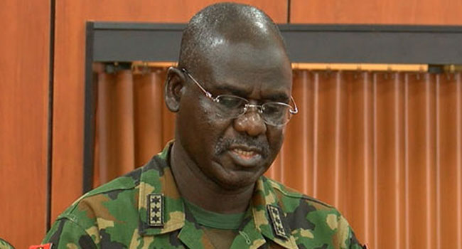 Buratai Asks Troops To Redouble Efforts In Fighting Insurgents