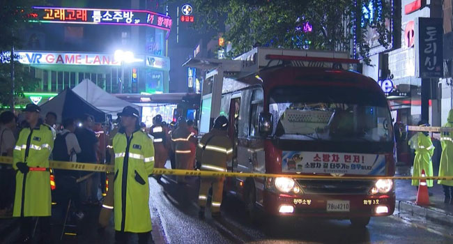 Two Killed, 16 Injured In Korean Nightclub Balcony Collapse