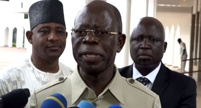 We Have What It Takes To Move Nigeria To The Next Level – Oshiomhole