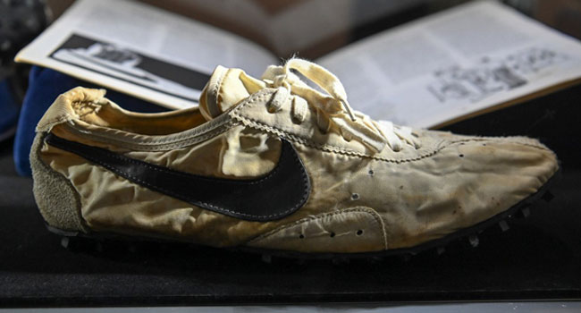 Nike Rare 'Moon Shoe' Sell For $437,500 At Auction