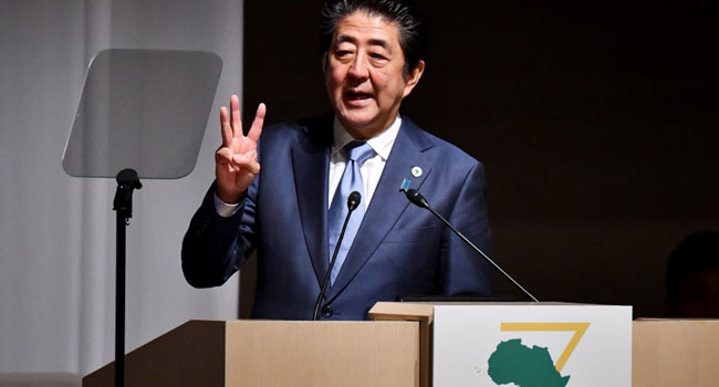 Japan PM Warns Africa About Debt As China Grows Presence