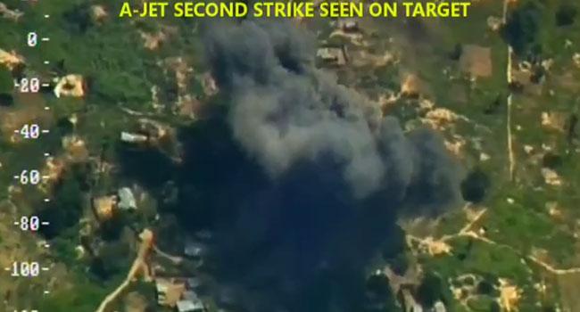 NAF Fighter Jets Kill Terrorists, Destroy Hideouts In Borno