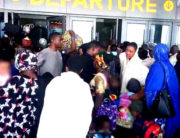 Angry Passengers Overwhelm Security Officials At Abuja Train Station