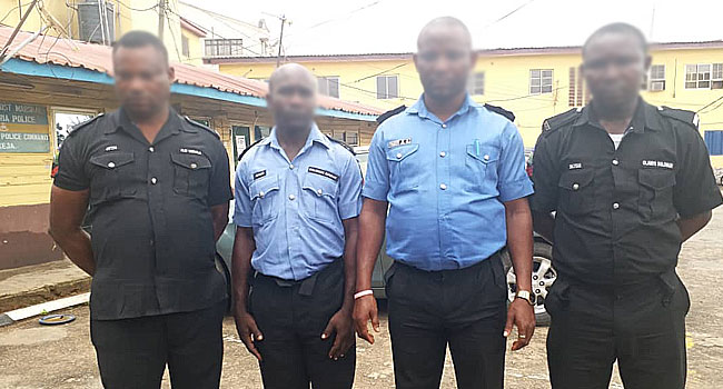 Four Police Officers Arrested For Extrajudicial killings