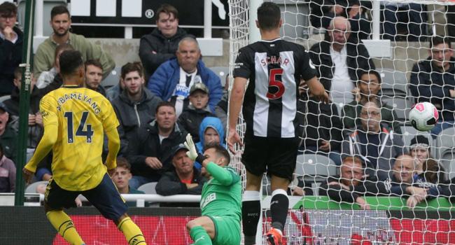 Aubameyang Gives Arsenal Winning Start At Newcastle