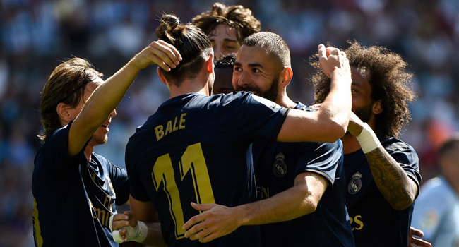 Bale Starts As Madrid Beat Celta 3-1