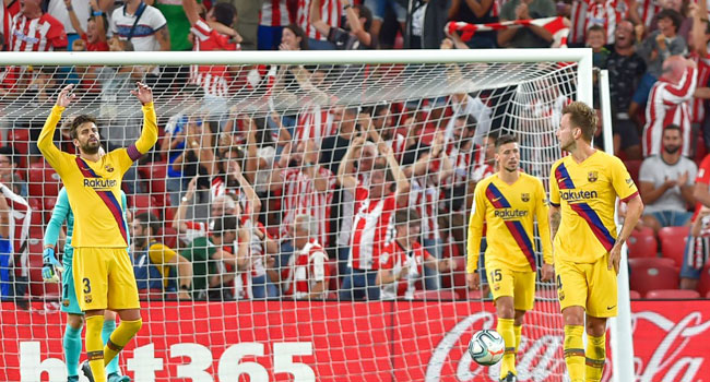 Athletic Bilbao Defeat Barcelona 1-0