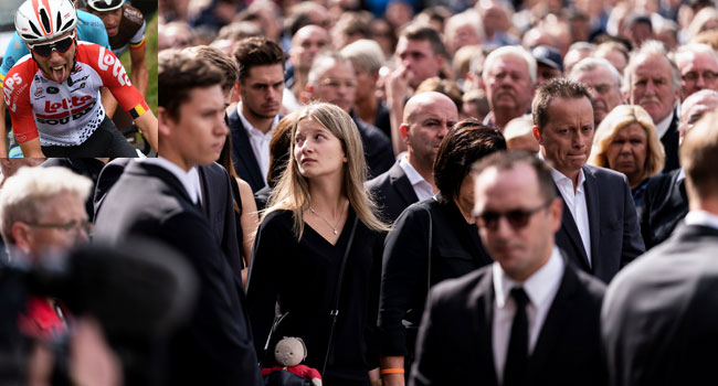 Fans, Relatives Gather For Funeral Of Belgian Cyclist Lambrecht