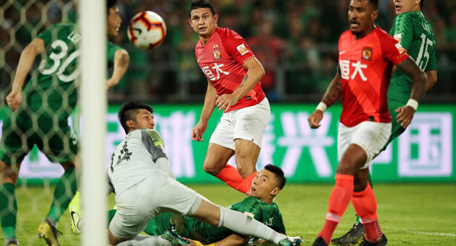 Brazilian Elkeson To Break Record, Earns China Call-up