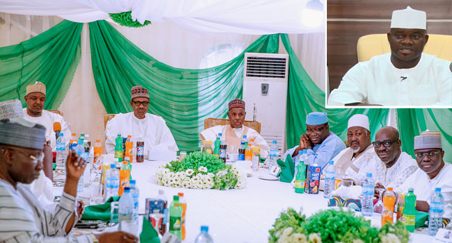Why Yahaya Bello Missed APC Governor's Meeting With Buhari – Garba Shehu