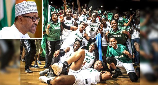 Buhari Praises D'Tigress For Afrobasket 2019 Victory