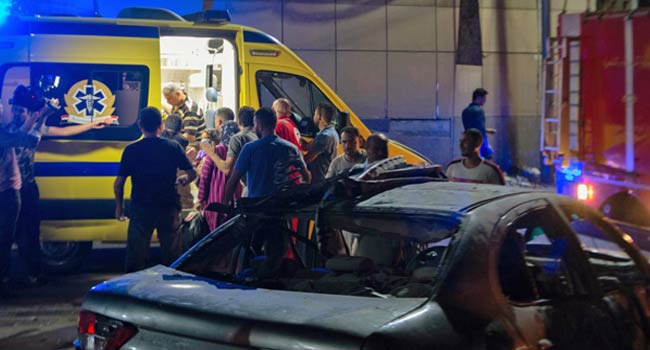 Car Crash Kills At Least 19 In Cairo