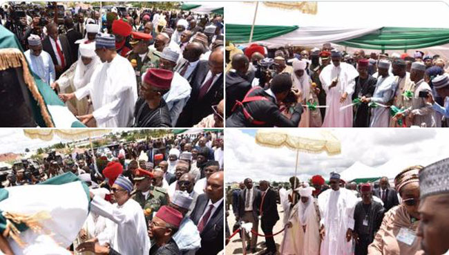 Buhari Commissions Zaria Water Project