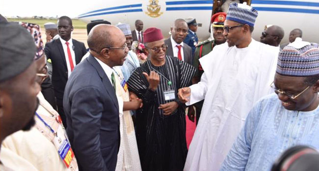Buhari Arrives In Kaduna For Commissioning Of Projects
