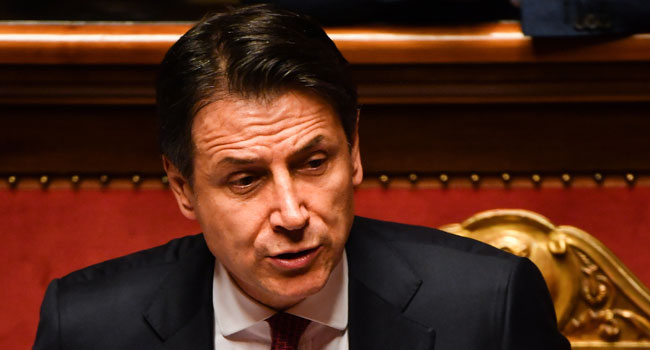 Italy's PM Conte To Resign Amid Coalition Row