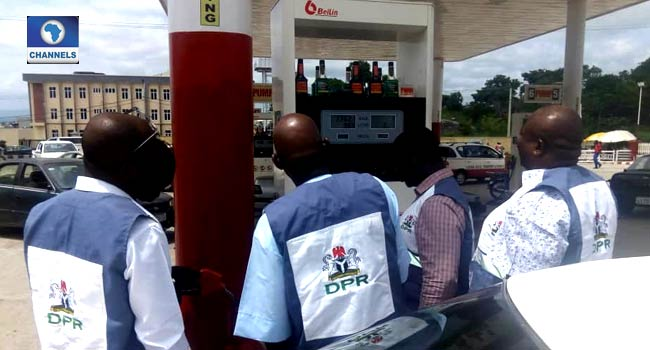 PHOTOS: DPR Seals Over 15 Fuel Stations In Kogi