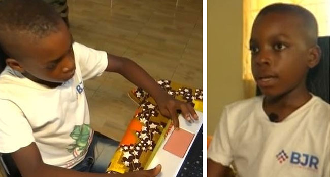 Meet 9-Year-Old Nigerian Boy Who Has Built Over 30 Mobile Games