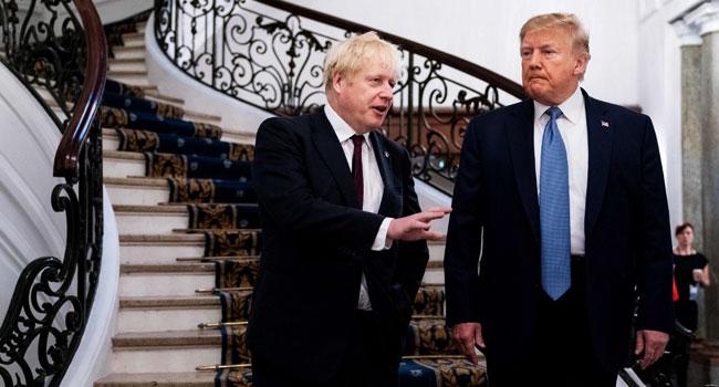 Trump Backs Johnson, Sends Mixed Signals About China At G7