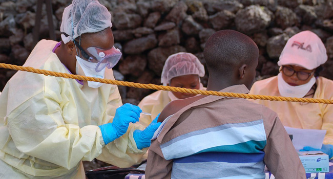 First Shipment Of New Ebola Vaccine Arrives In DR Congo