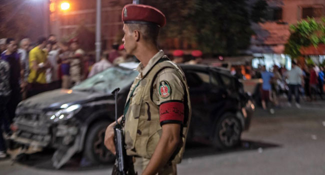 17 'Terrorists' Killed In Egypt Operation Linked To Car Blast