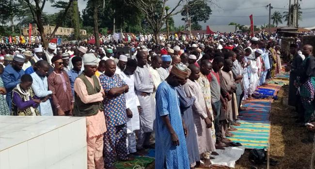 Muslims Celeberate Eid-El-Kabir