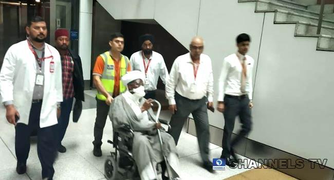 El-Zakzaky Arrives In India For Medical Treatment
