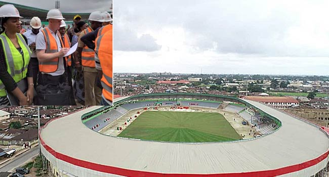 FIFA Team Inspect Ogbe Stadium, Others For U-20 Women's World Cup