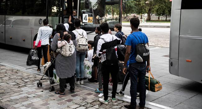 France Rescues 22 Migrants Heading For Britain