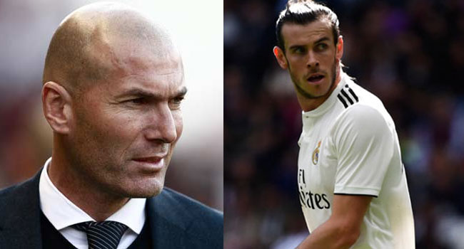 Zidane Dismisses Speculation Over Bale's Future At Real Madrid