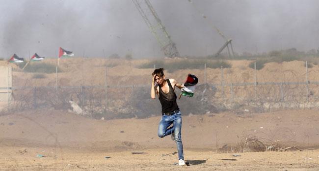 Israeli Warplanes Hit Gaza After Palestinian Rocket Fire