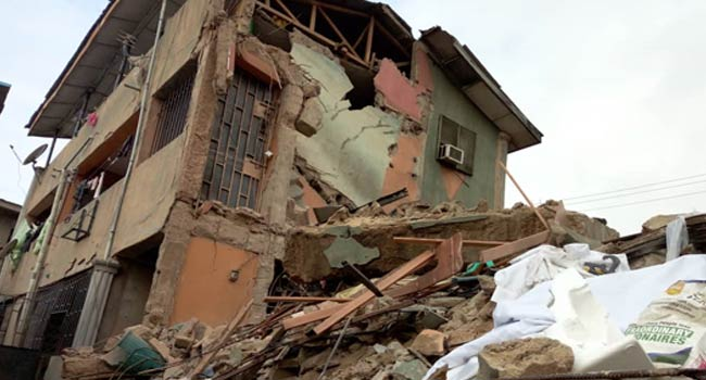 Another Two-Storey Building Collapses In Lagos - Channels Television