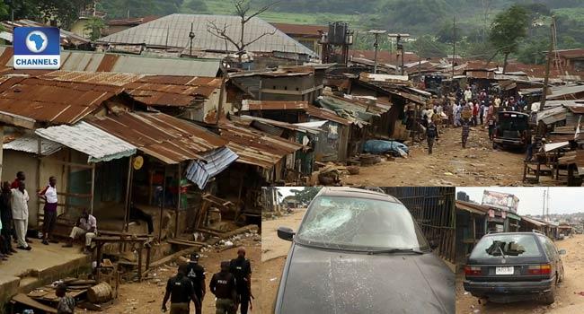 Hoodlums Attack Ibadan Market, Destroy Vehicles, Other Valuables