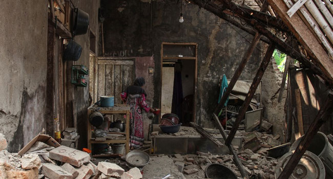 Indonesia Quake Leaves One Dead, Several Injured