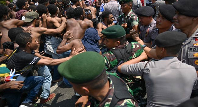 Indonesia Shuts Internet Over Unrest Fears