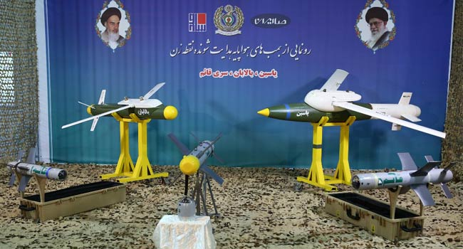 Iran Unveils Three New Precision-Guided Missiles