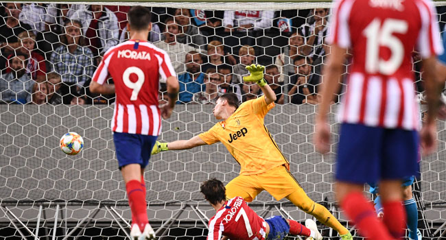 New Signing Felix Shines As Atletico Beat Juventus