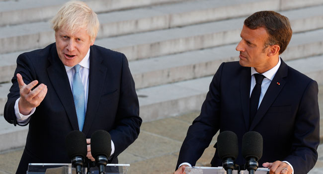 Macron, Johnson Meet In France Over Brexit