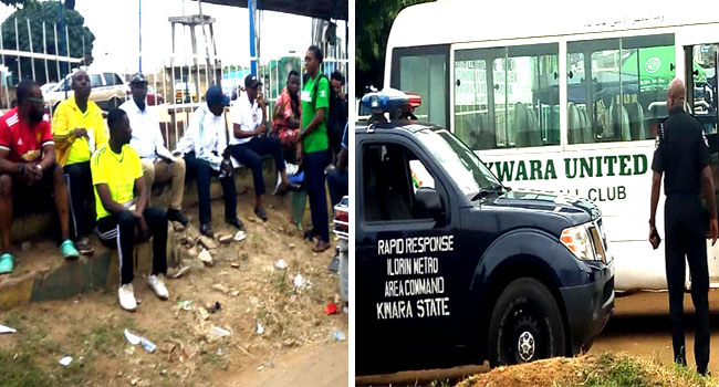 PHOTOS: Heavy Security Stalls 'RevolutionNow' Protest In Ilorin