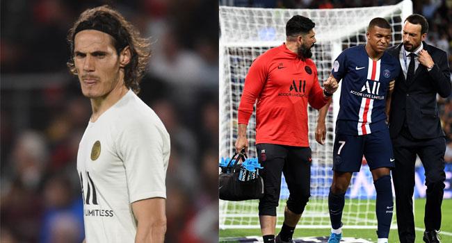 PSG Hit With Mbappe, Cavani Injury