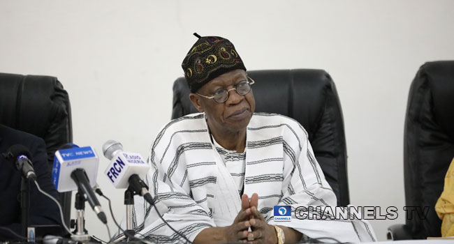 FG Recovers N800bn Looted Funds, Convicts 1,400 – Lai Mohammed