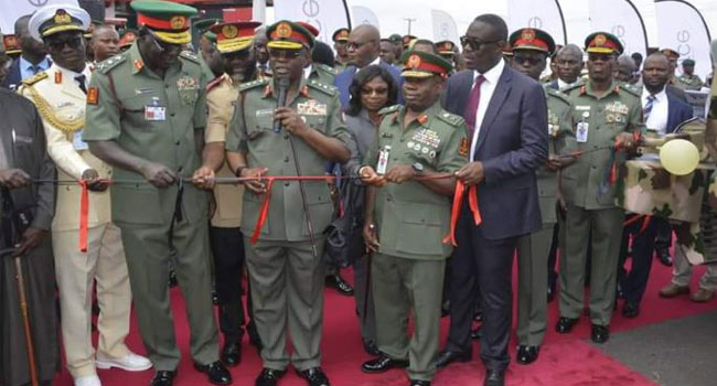 PHOTOS: Army Launches Four Mine Resistant Vehicles